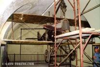 003-il velivolo prima di iniziare lo smontaggio