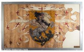 058-Dipinto originale ala sx incorniciato