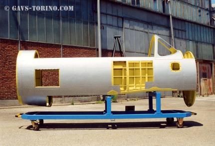 FIAT G.49 tronco centr. fusol.